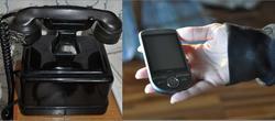 Fra sveivetelefon til mobiltelefon