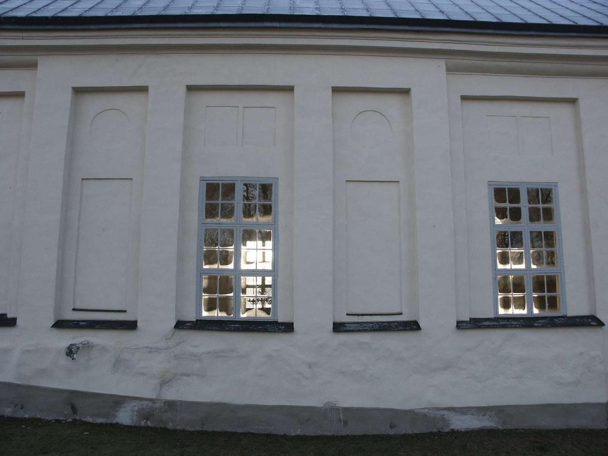 Holms kyrka, Holms socken, Uppland december 2002