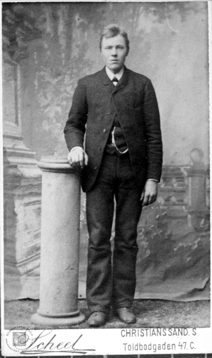 Portrett av John Roland, Bjelland.