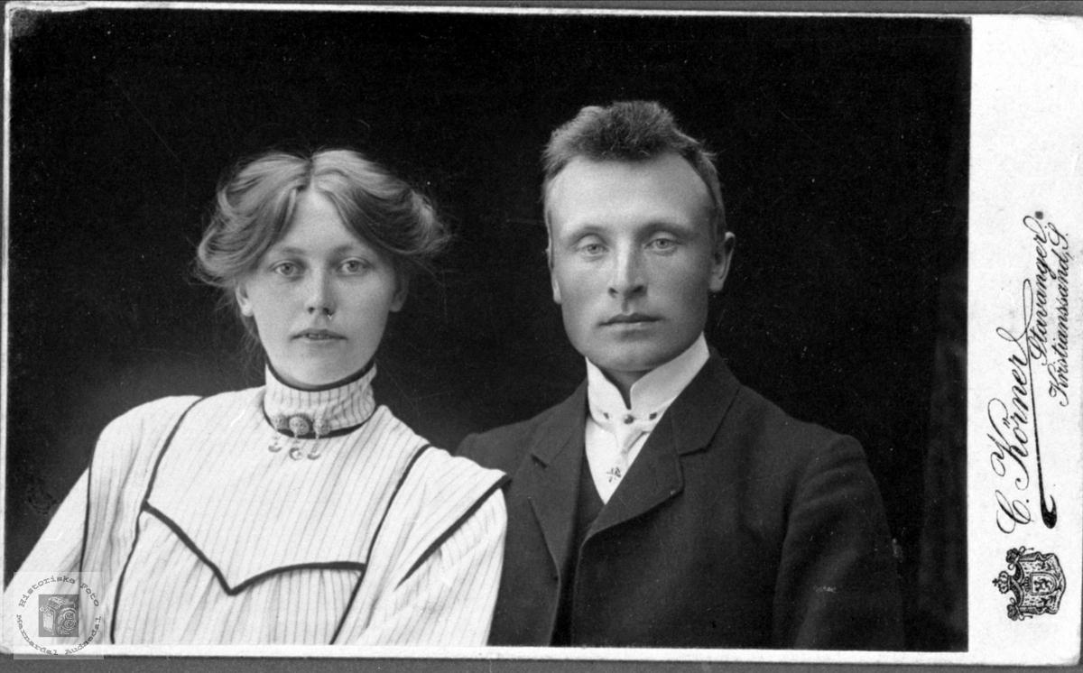 Ekteparet Birgit og Elling Mjåland fra Hornnes i Aust-Agder.