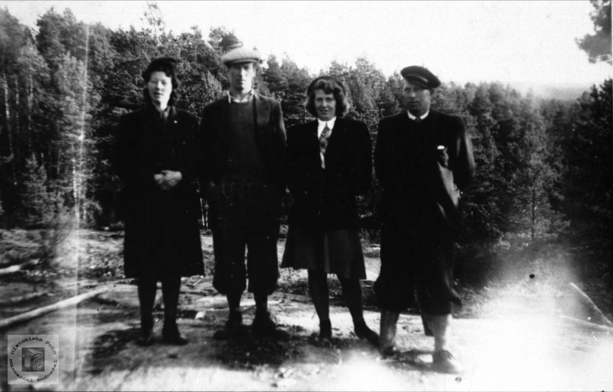 Gruppe Solås, Skaar, Fossestøl Øyslebø.