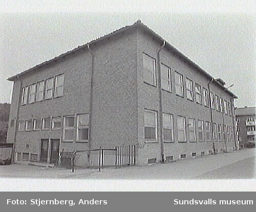 Verkstadsskolans elevhem.