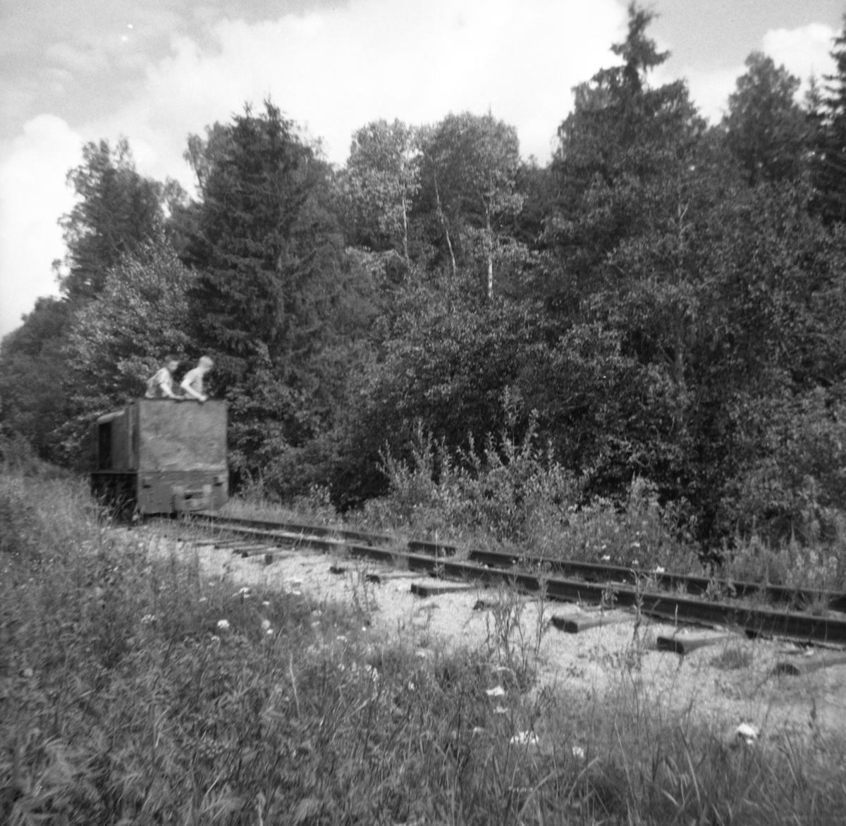 "Museumsbanens diesellokomotiv ""Bæleverket"""