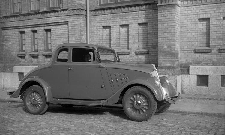 Willys Model 77 Coupe 1933