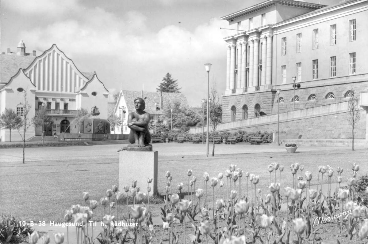 Byeksteriør - Park - Kunst - Rådhuset.
