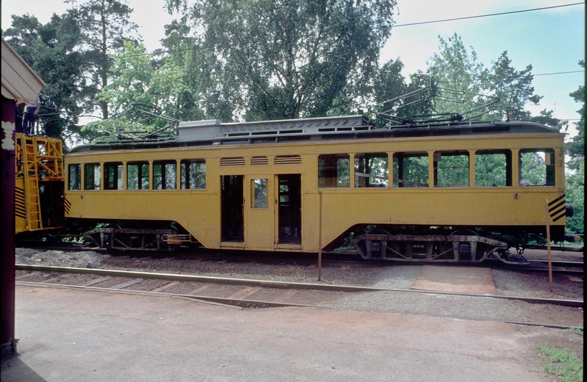 Ekebergbanen, Oslo Sporveier. Arbeidsvogn 399, oppprinnelig vogn 1007 fra 1920.