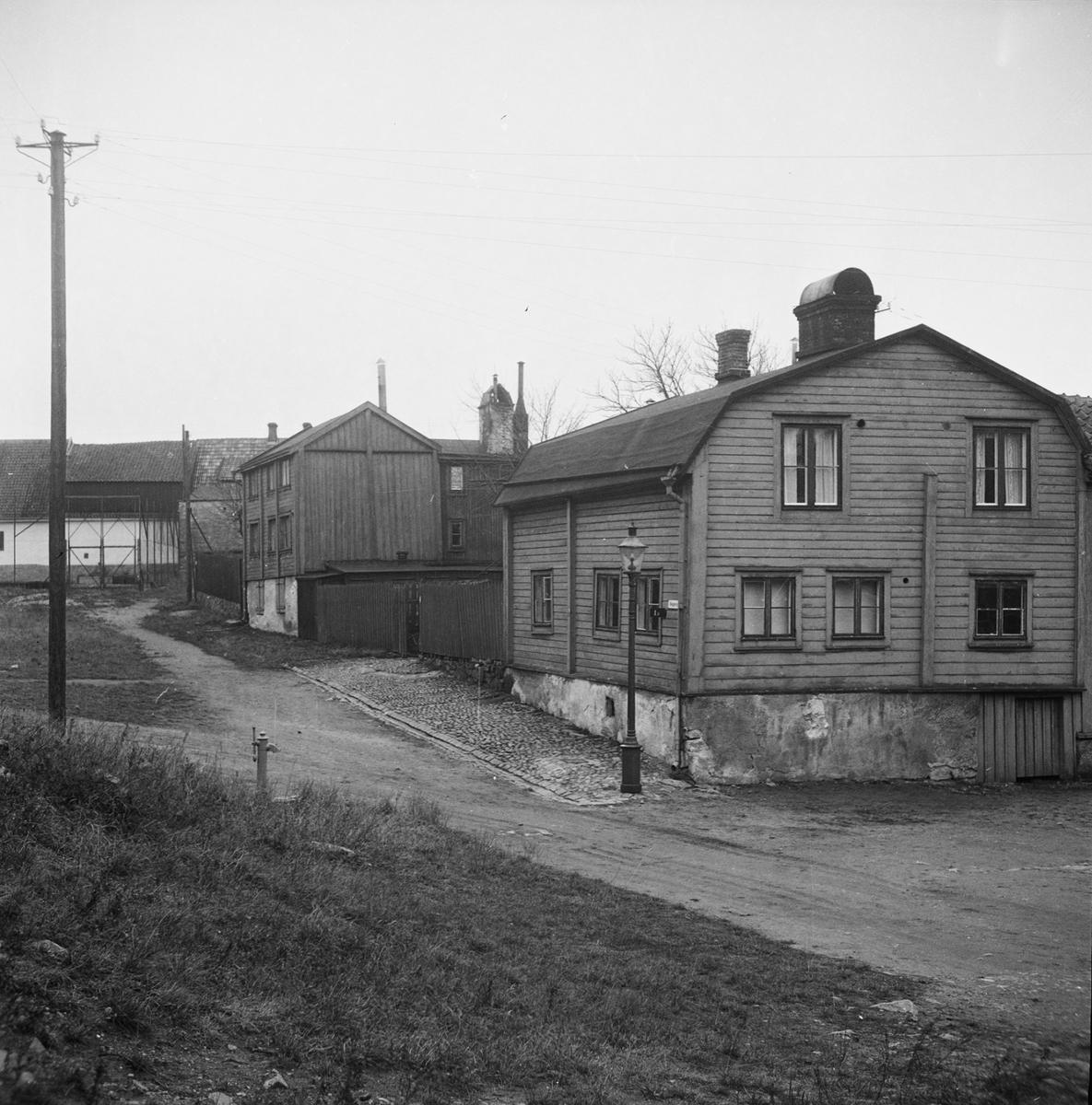 Övrigt: Fotodatum:Saknas Byggnader och Kranar Äldre bilder från Västerudden