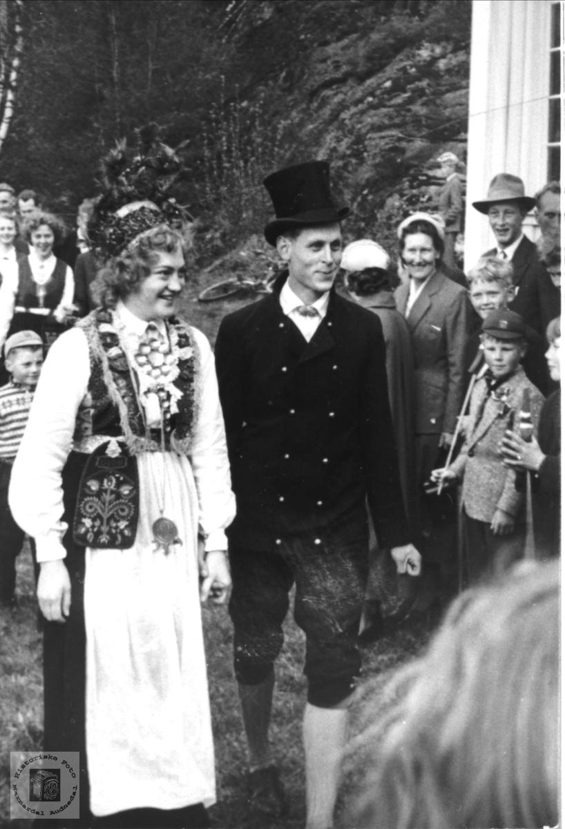 """""""Brudeparet"""" 17. mai feiring"""