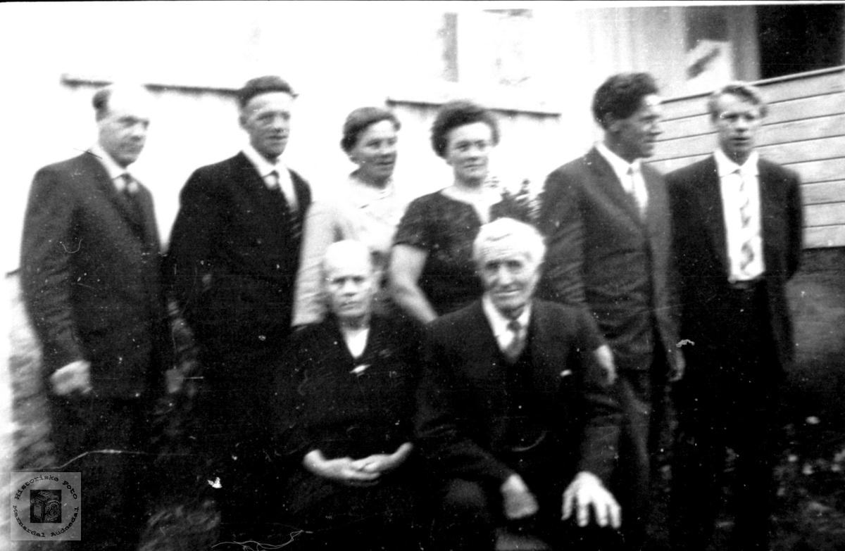 Familiebilde fra Kleiven.