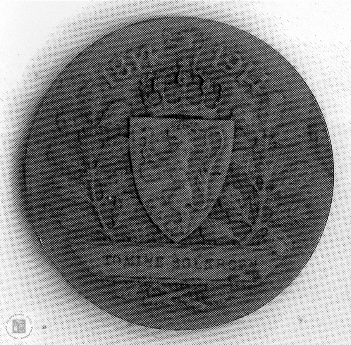 Medalje Jubileumsutstillingen Kristania 1914.