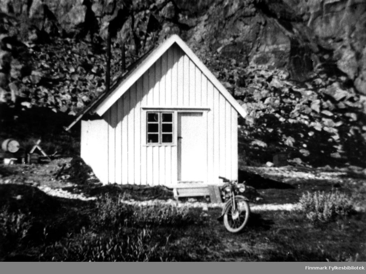 Krokvik brakka i Laksefjord, her bodde Kristian Sørensen i 1939.