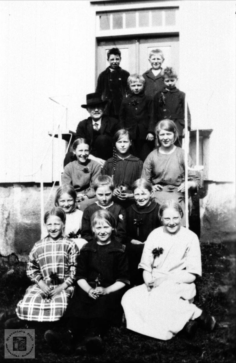 Skolebilde fra Gangså