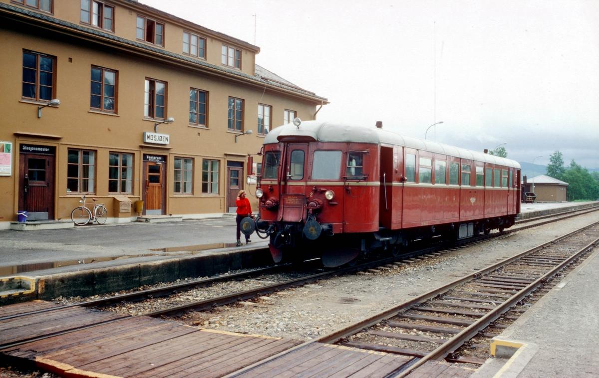 Majavassvogna, tog 475 Majavatn - Mo i Rana, i Mosjøen.