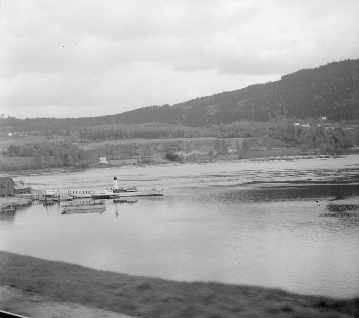 Skibladner ved Minnesund