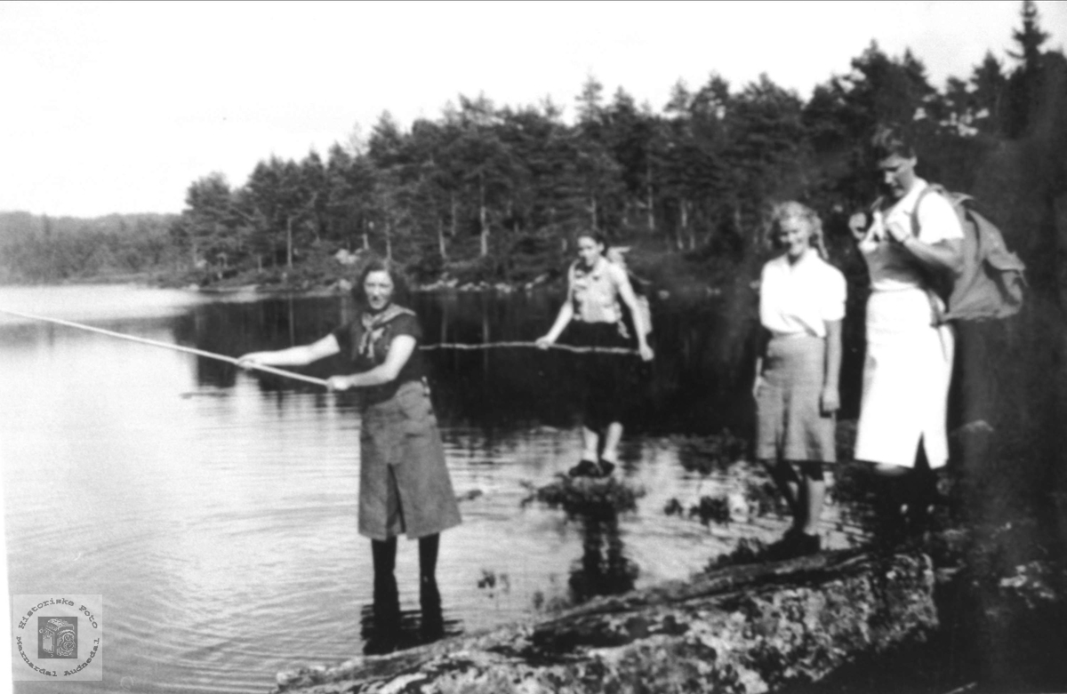 Fisketur på Solberg