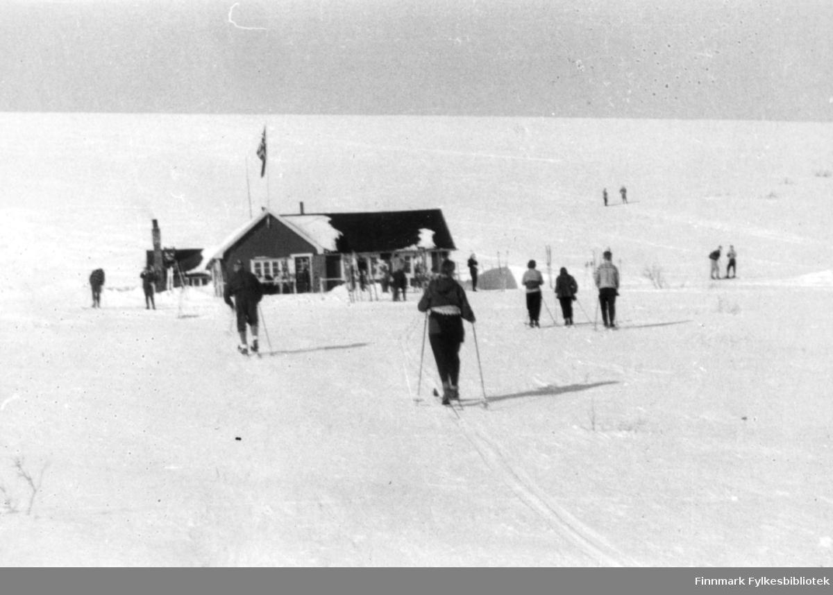 Vinikka-hytta på slutten av 1950 tallet