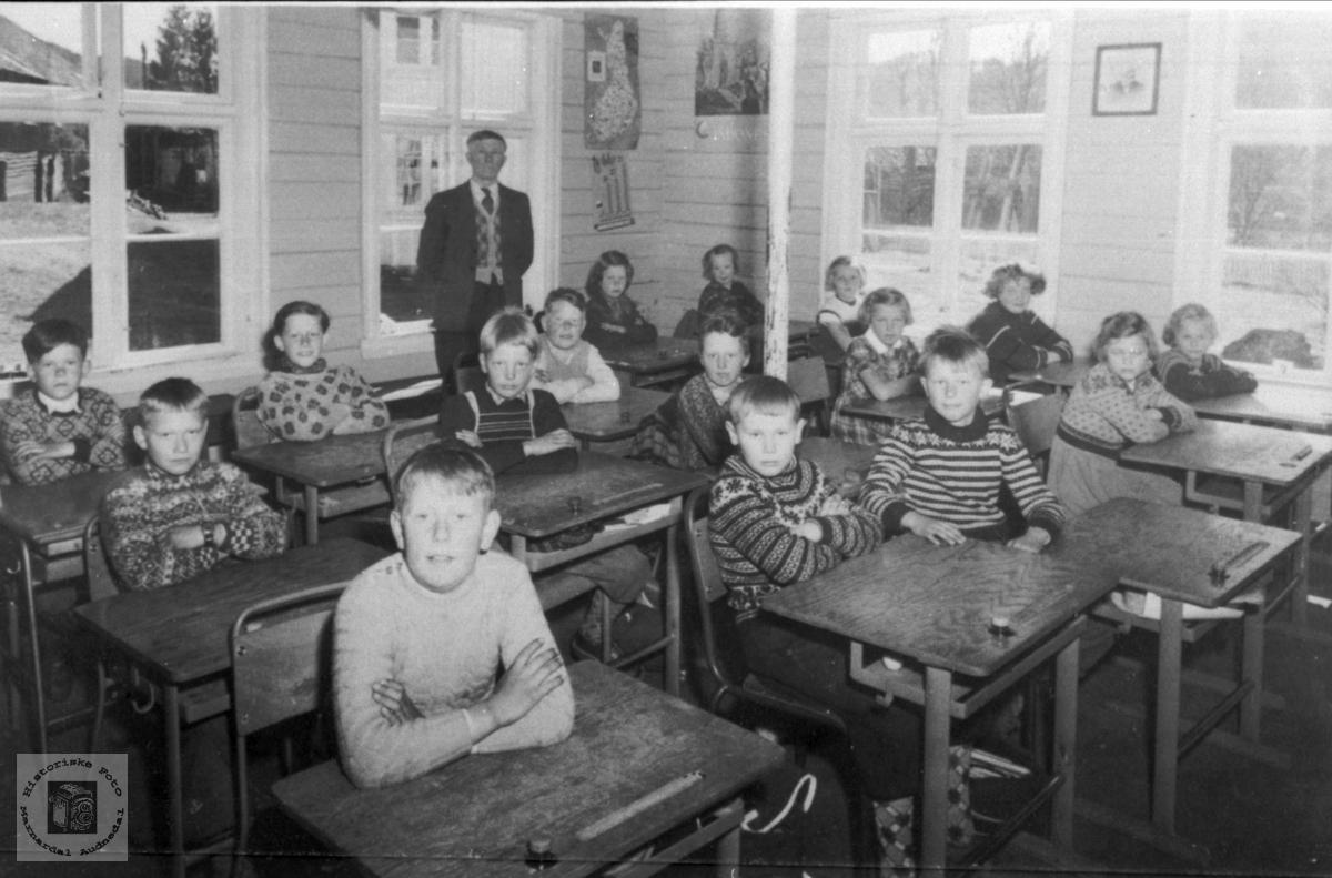 Klassebilde Laudal skole.