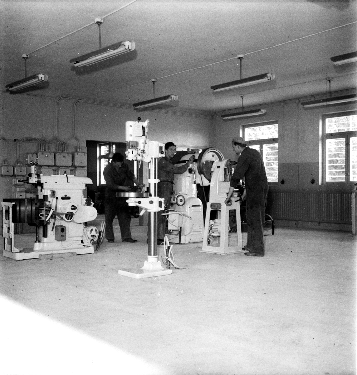 Fängelset nya verkstaden, Uppsala 1950