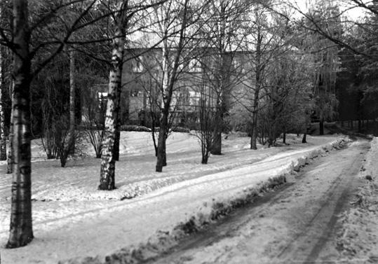 Läkarbostad på Skogsfjällets sanatorium i Västerås.