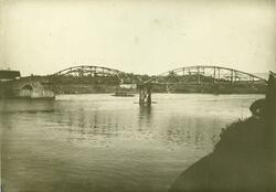 Vippa bru reparert etter flomskade i 1892 Arendal