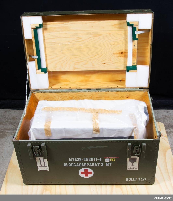 Blodgasapparat