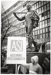 1. mai 1992. ASI Arbeidssøkendes interesseorganisasjon.