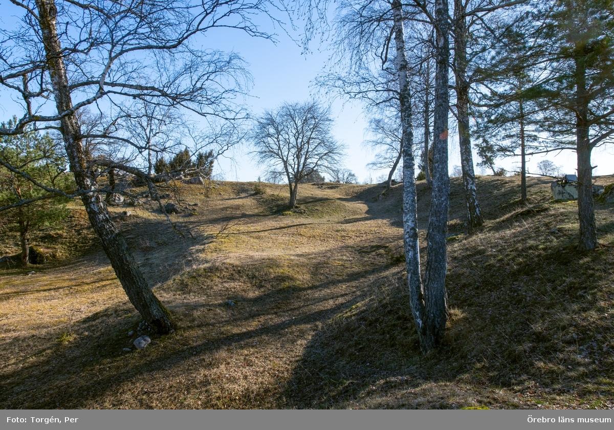 Gravfältet i Skävesund.