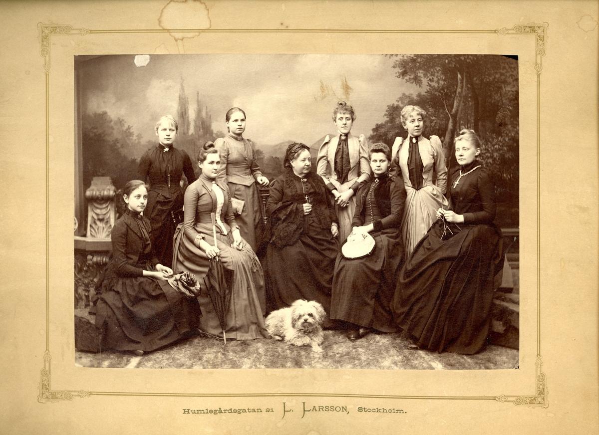 Uppfostringsanstalten och skolan för flickor i Brunkebergs hotell