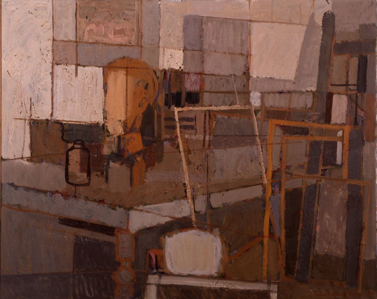 I atelieret II [Maleri]