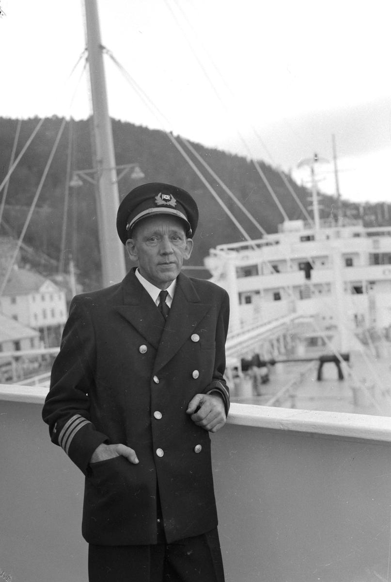 "Tankbåten ""North America"" besøker Trondheim"