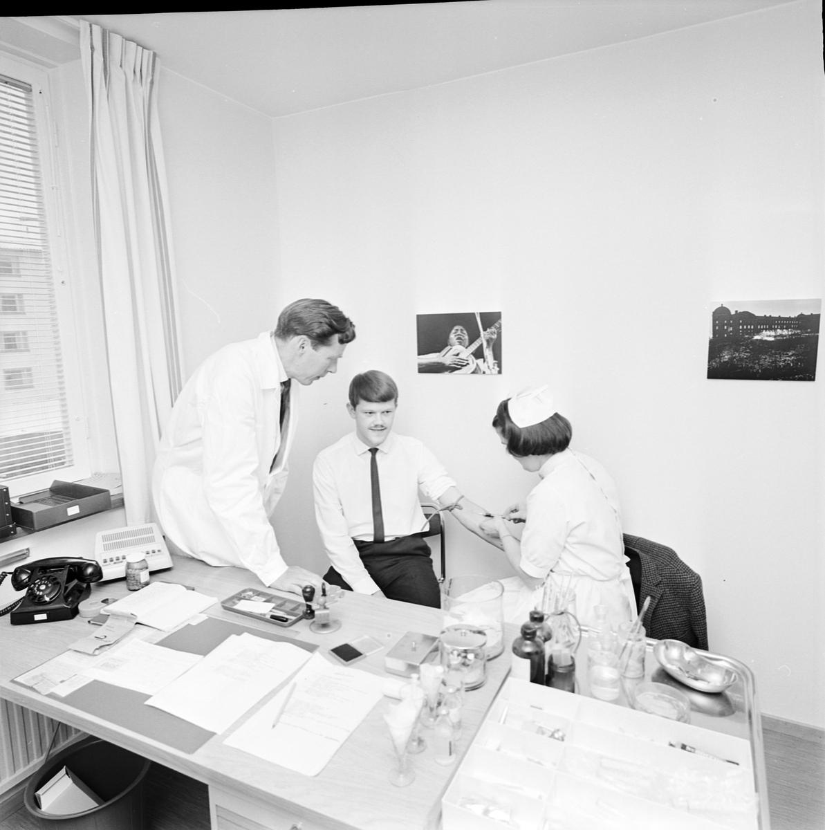 Hälsovårdsklinik, Rackarberget, Uppsala 1966