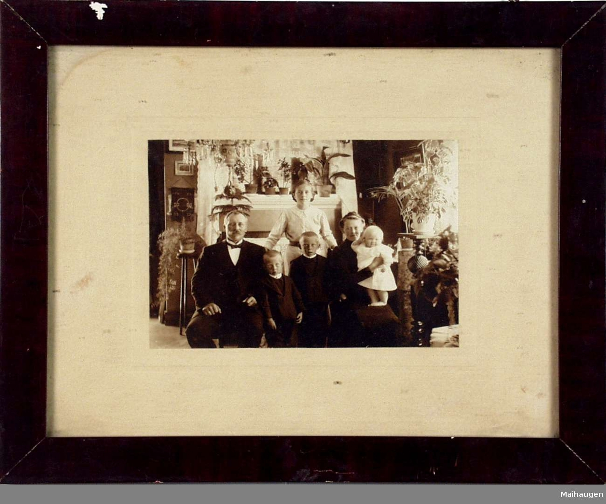 Et familieportrett.