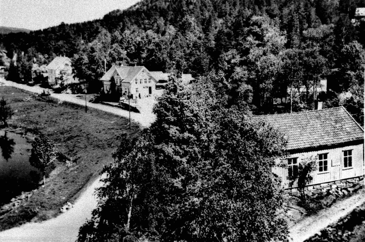Bilder fra Birkenes kommune Oversiktsbilde av Herefoss