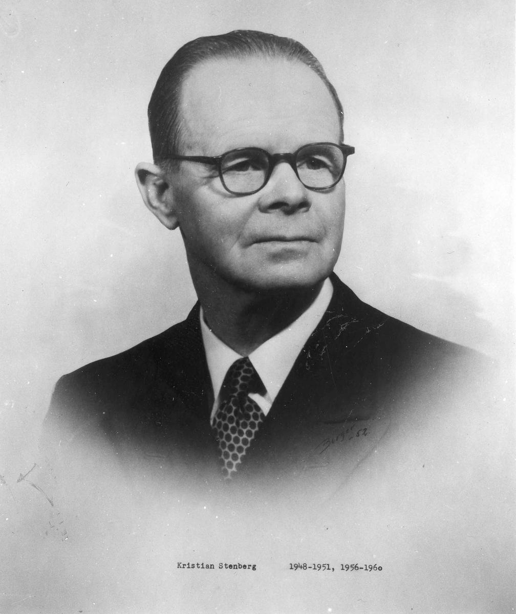 Kristian Stenberg, ordfører i Feiring 1948-51 og 1956-59.