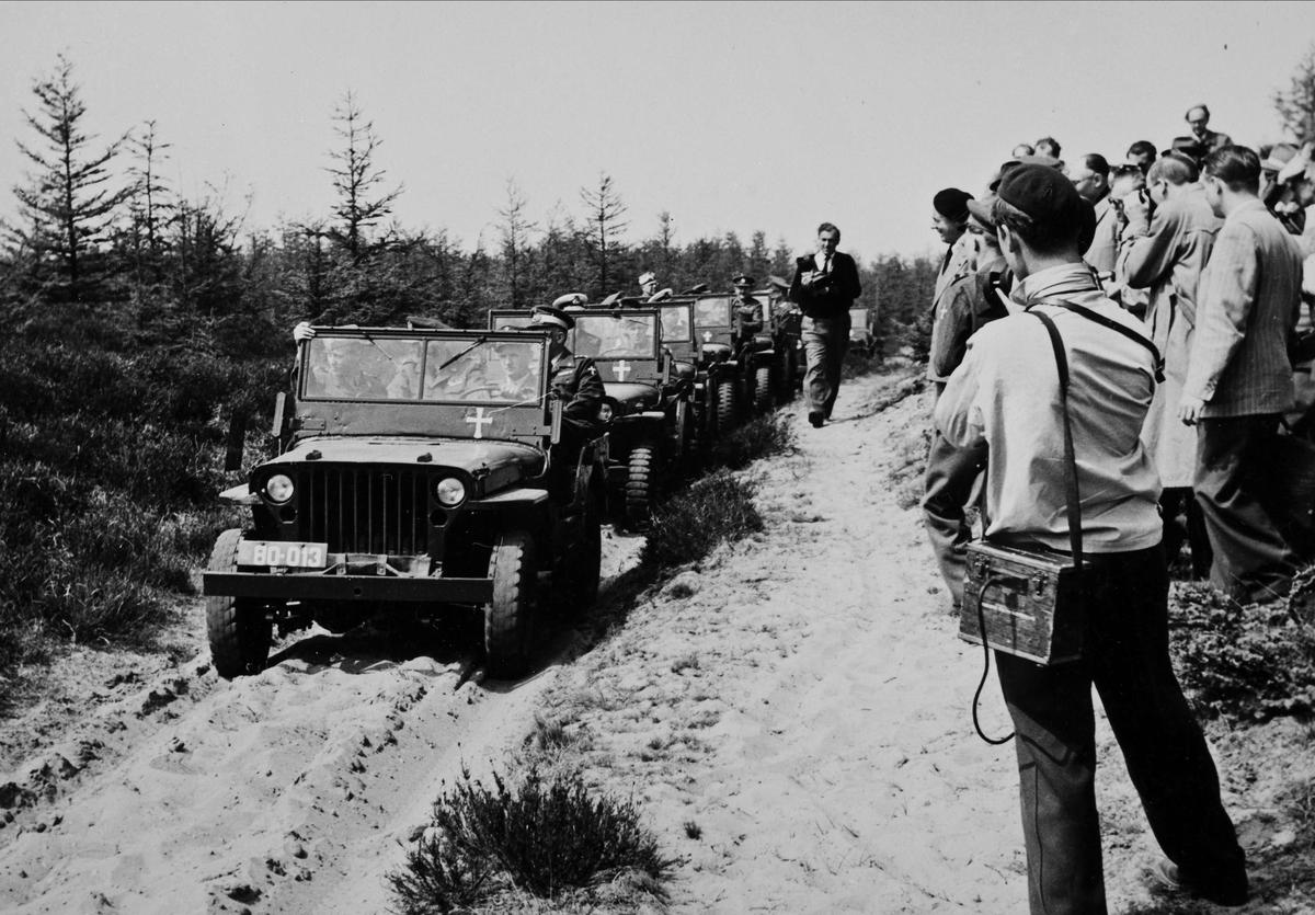 General Eisenhowers besøk 21. mai 1951. Brigade 511.