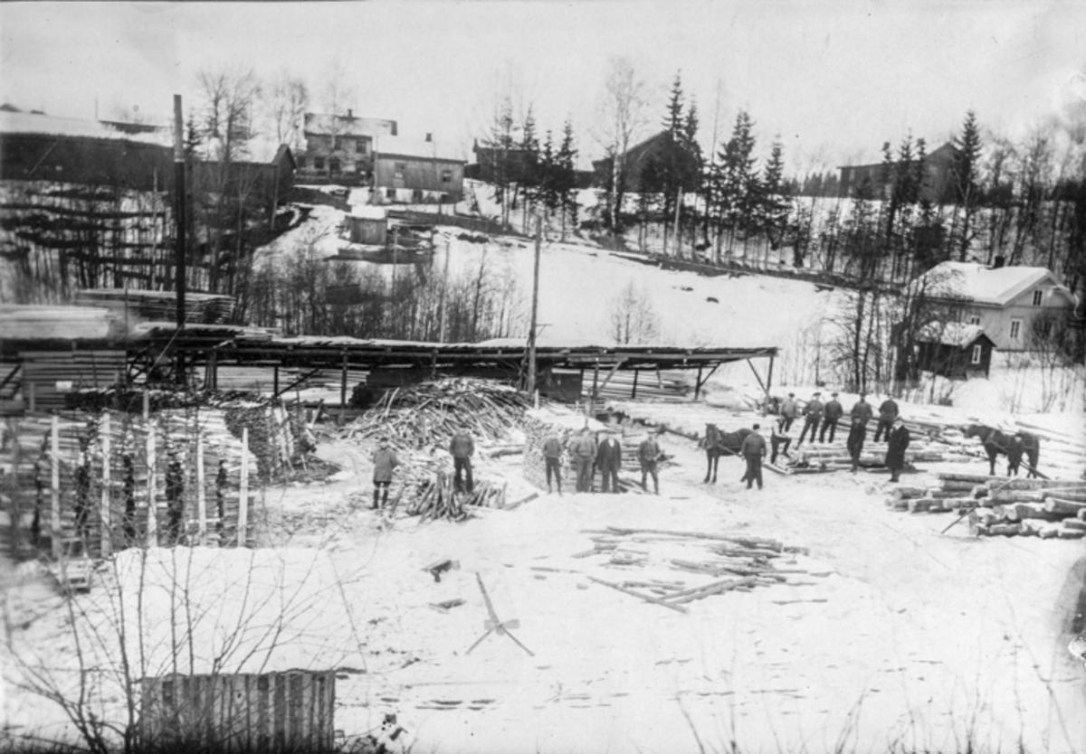 Dal Sag, vinteren 1917.