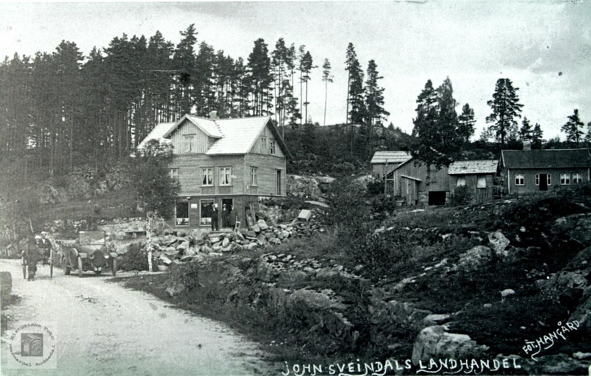 John Sveindals landhandel på Sveindal.