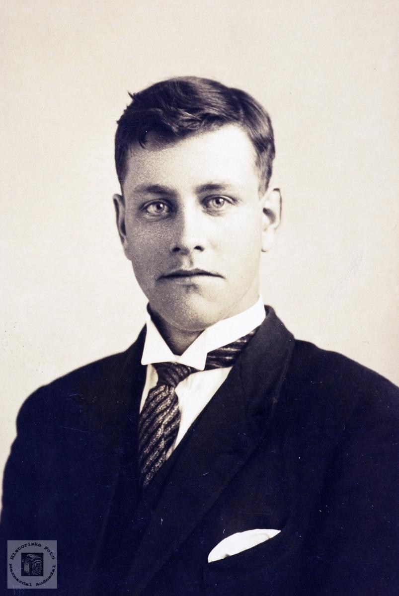 Portrett av Torkel Bransdal, Grindheim senere Audnedal.