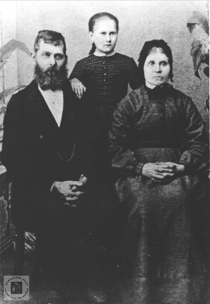 Familiegruppe Surteland, Øyslebø.