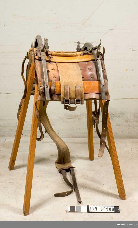 Packsadel m/1914