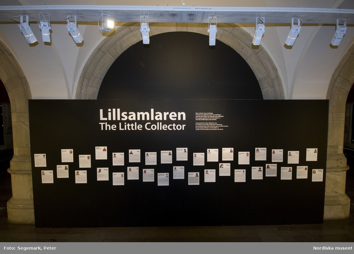 Samlarutställning i muséet
