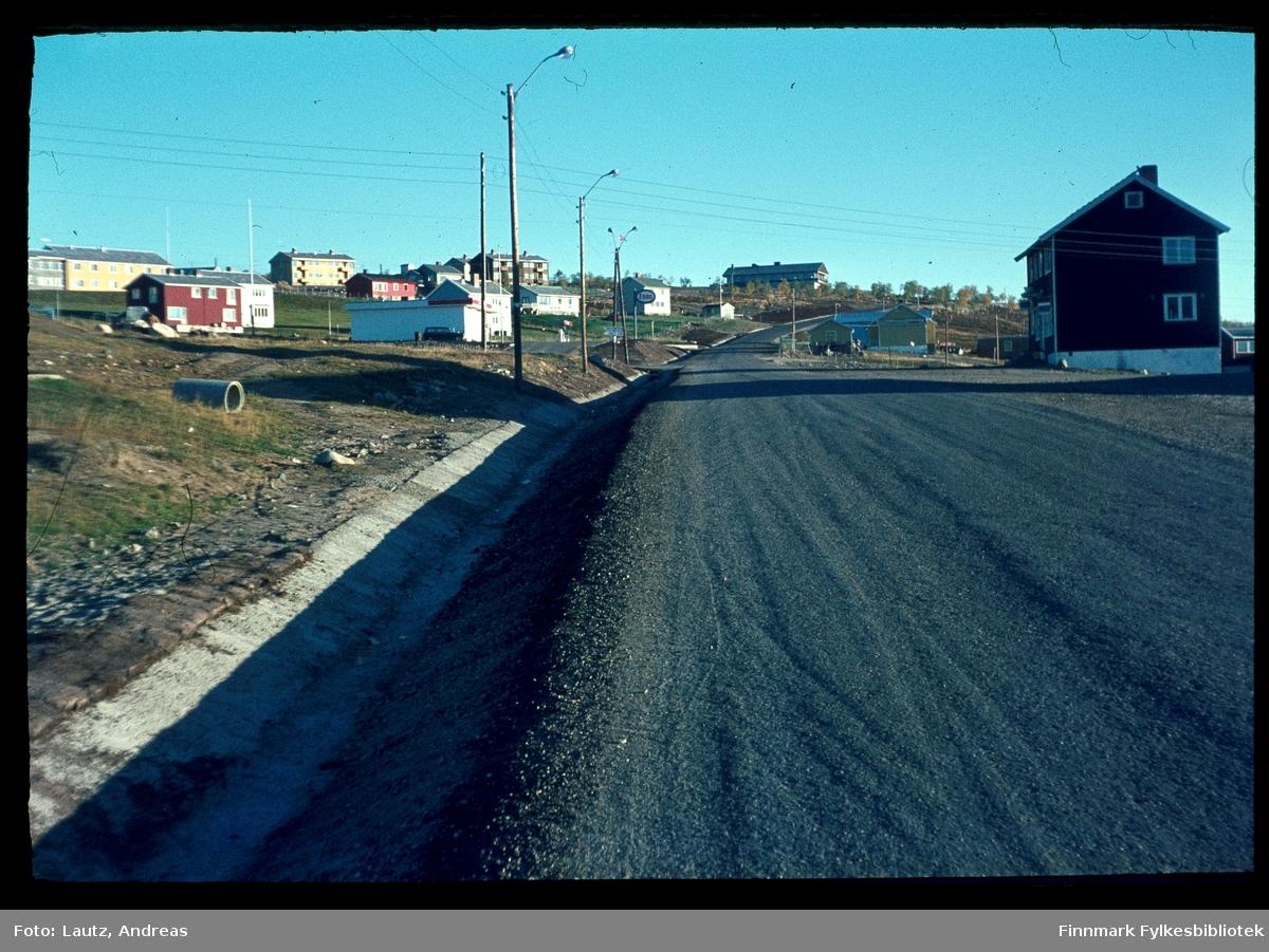 Kautokeino i 1969. Fjellstua.