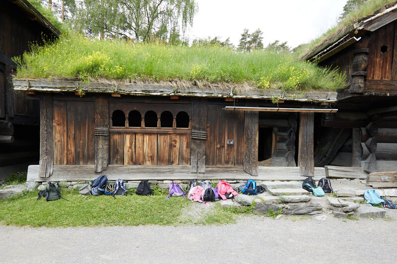 Årestua fra Åmlid i Valle.. Foto/Photo