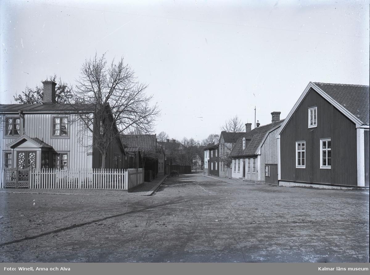 Tullgatan (numera Jenny Nyströms Gränd) sedd från Unionsgatan mot Esplanaden.