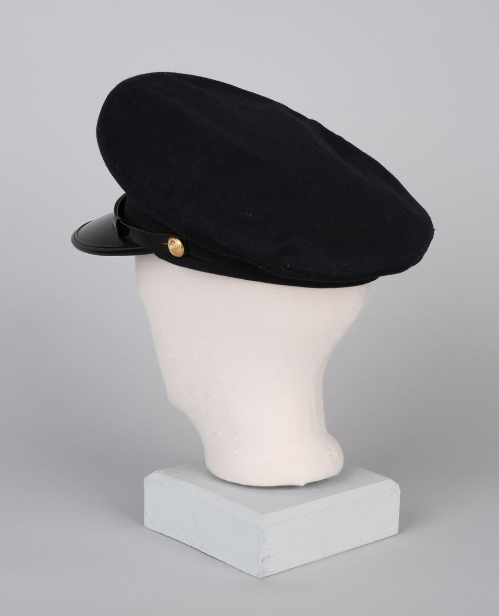 Uniformslue, del av telegrafist-uniform type telegrafist T-2 07-18.