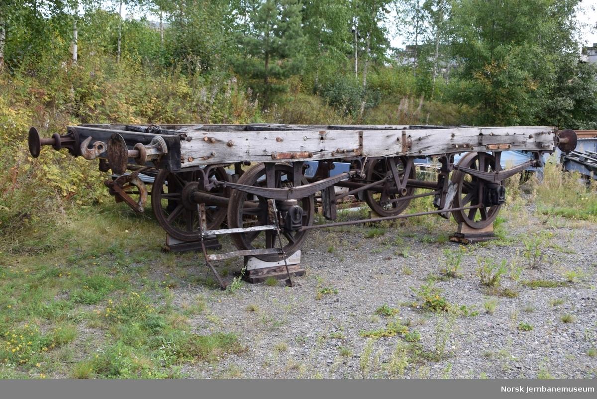 Vognunderstell fra vogn fra Hovedbanen eller Kongsvingerbanen