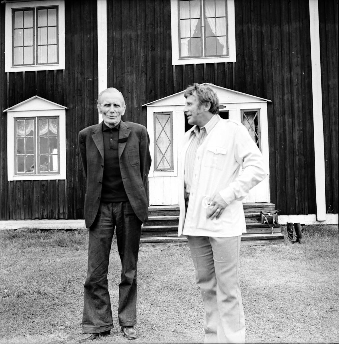 Bogården, Nytt fritidsområde, Augusti 1973