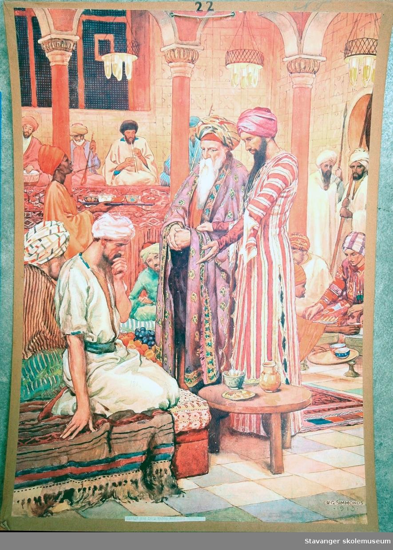 Motiver hentet fra bibelen: Gamle testamentet og det nye testamentet.