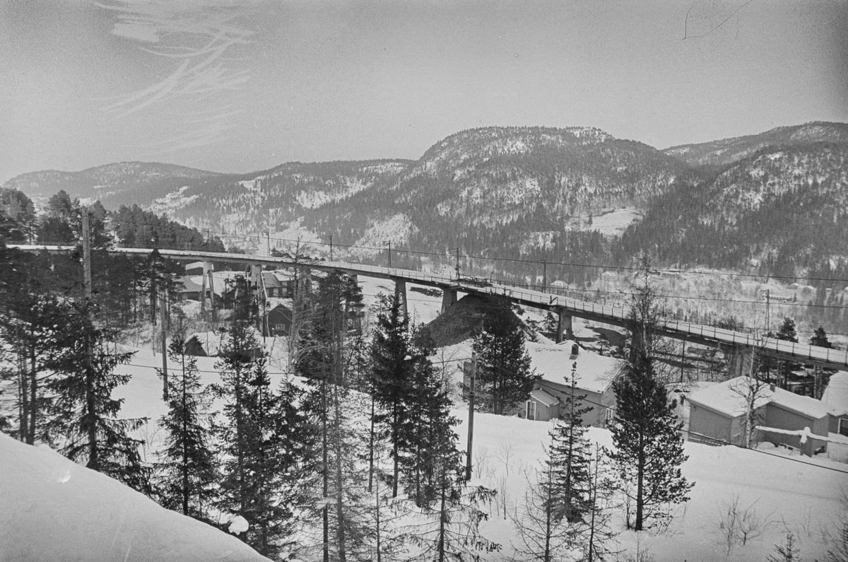 Fagerlibanens viadukt ved Løkken. Sporvidde 60 cm.