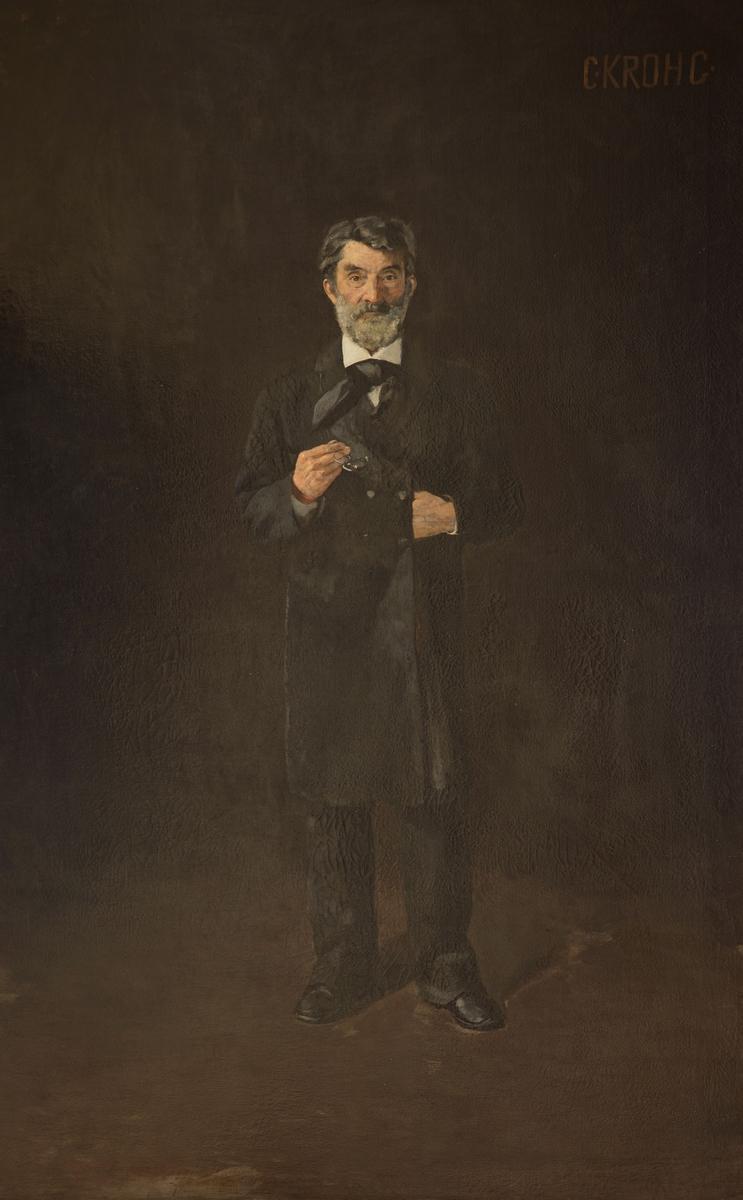 Johan Sverdrup [Olje på lerret]